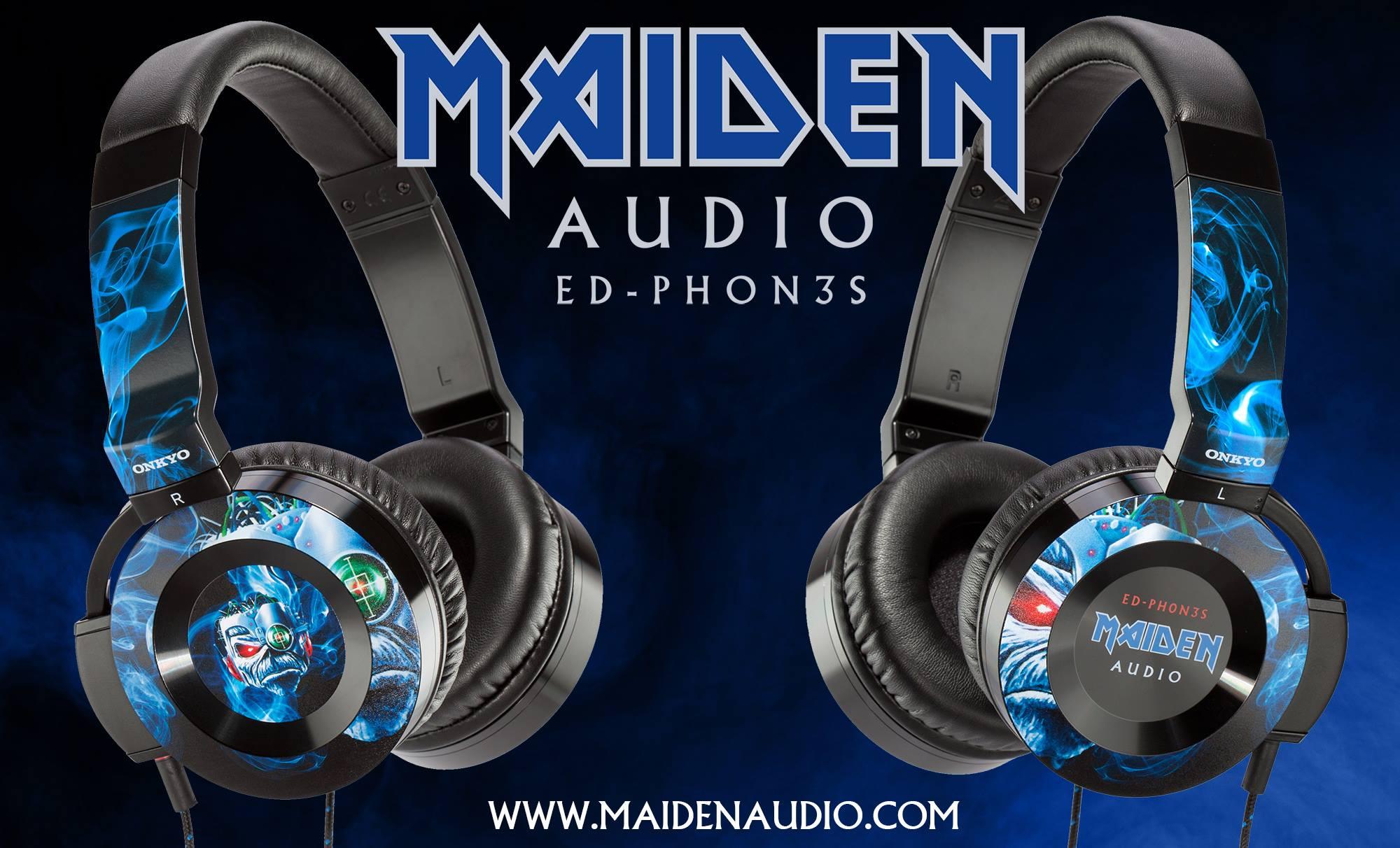 ED – PHON3S – Onkyo sluchátka Iron Maiden